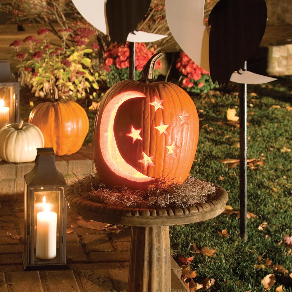 Nuit étoilée, un soir d'Halloween