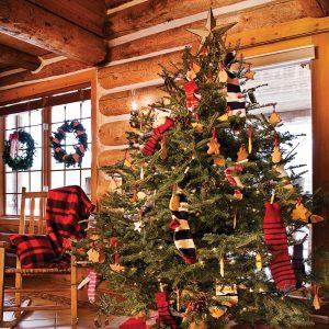 Le sapin de Noël au chalet