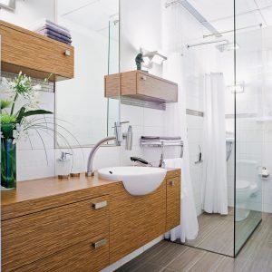 Salle de bain rénovée en beauté