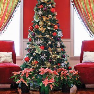 Arbre de Noël féerique