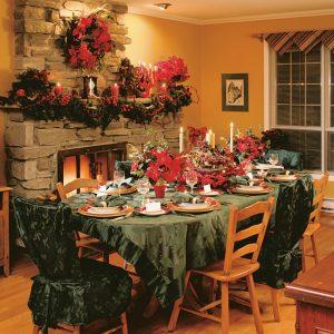 Réception de Noël étoilée