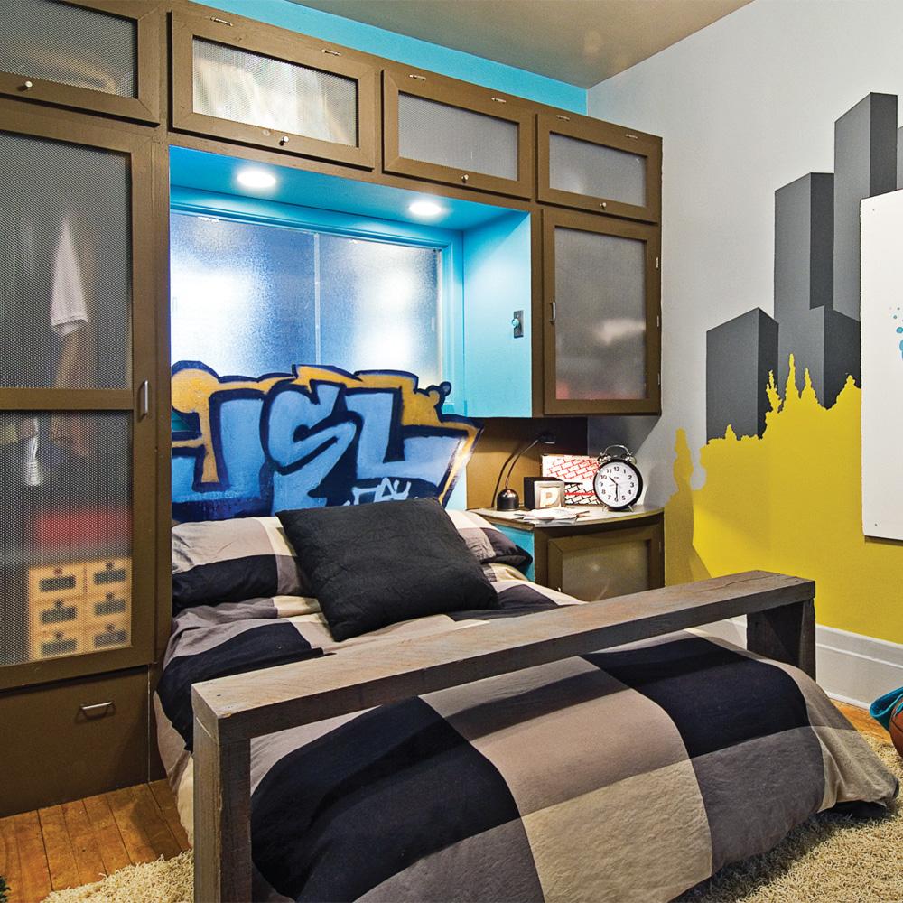 LA chambre cool pour garçon