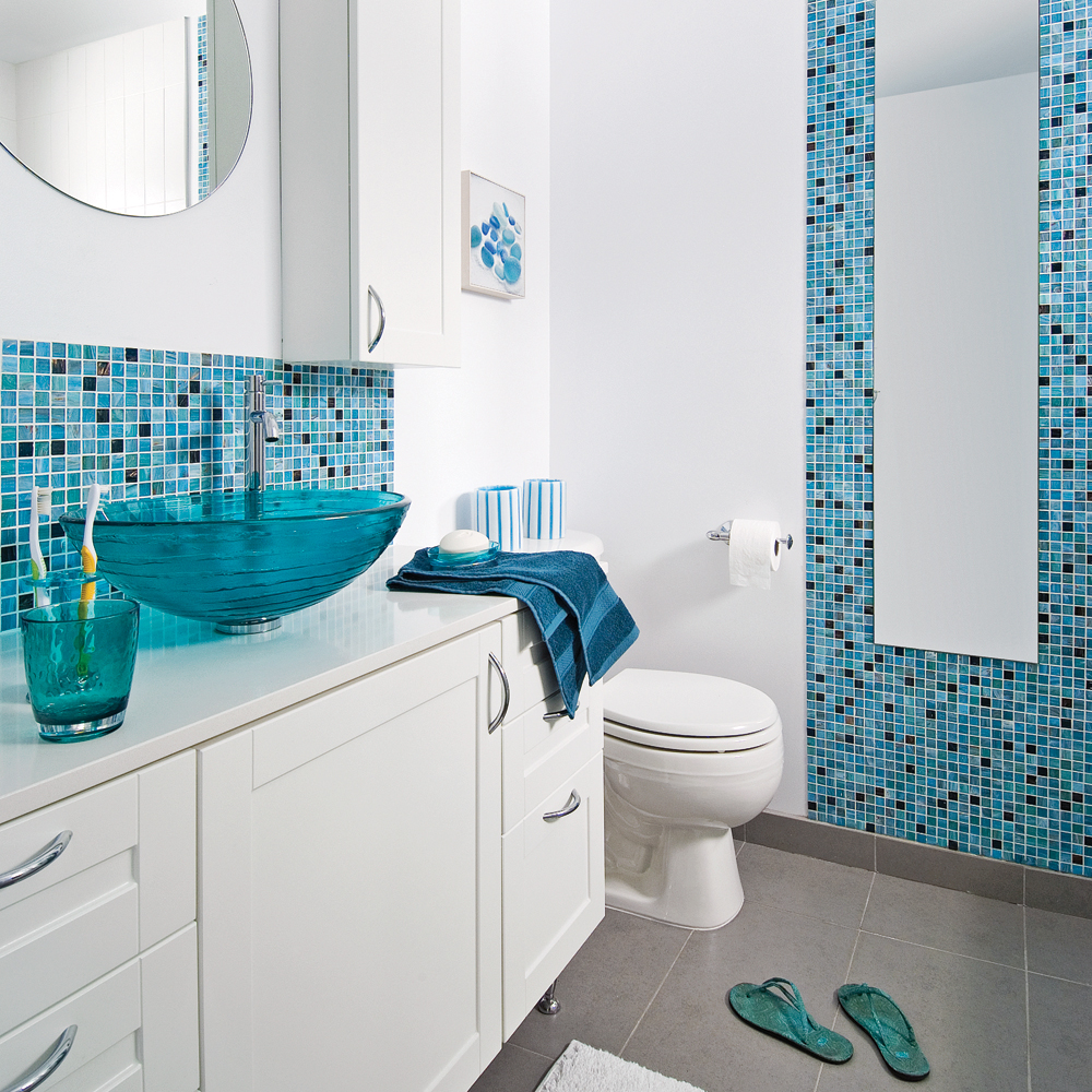 Mosaique Bleue Salle De Bain Bright Shadow Online