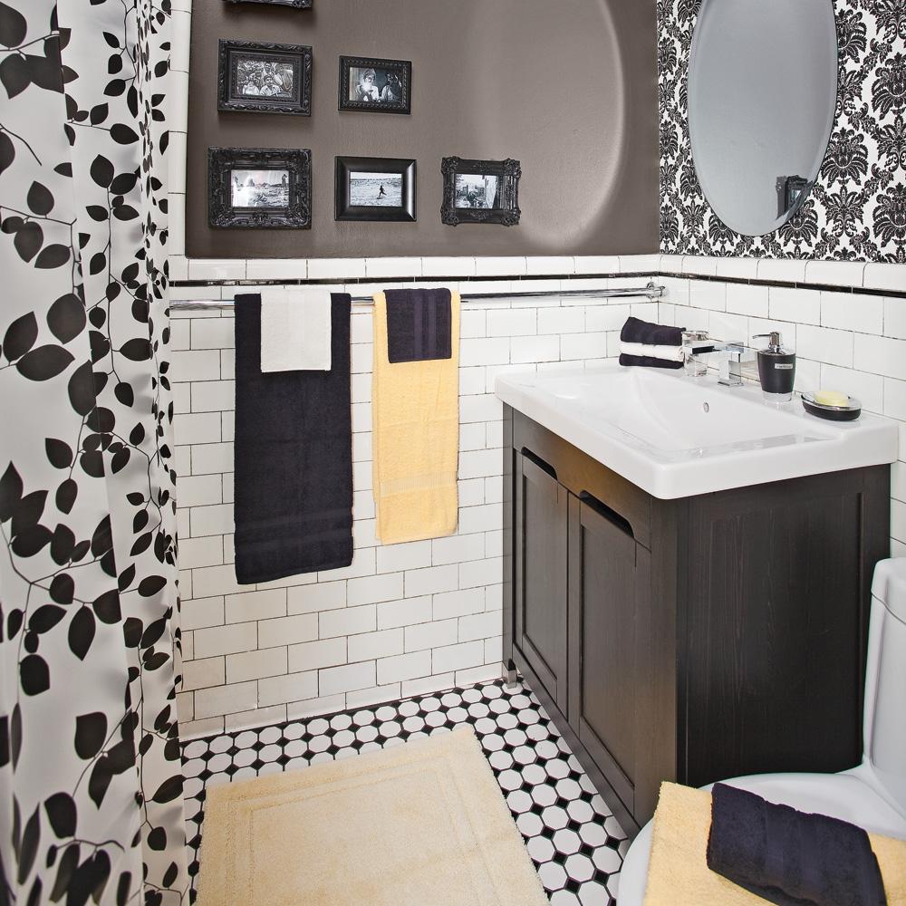 Comment r nover le plancher de c ramique de la salle de bain je d core - Je decore salle de bain ...