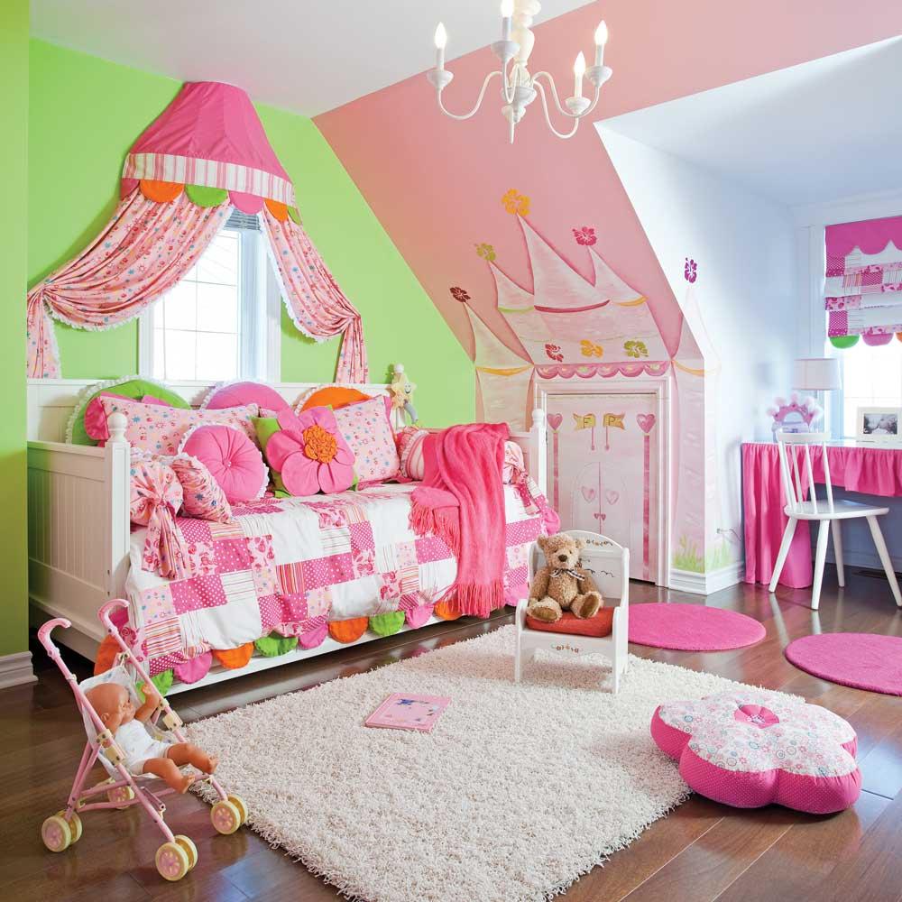 Jolie chambre de princesse - Je Décore