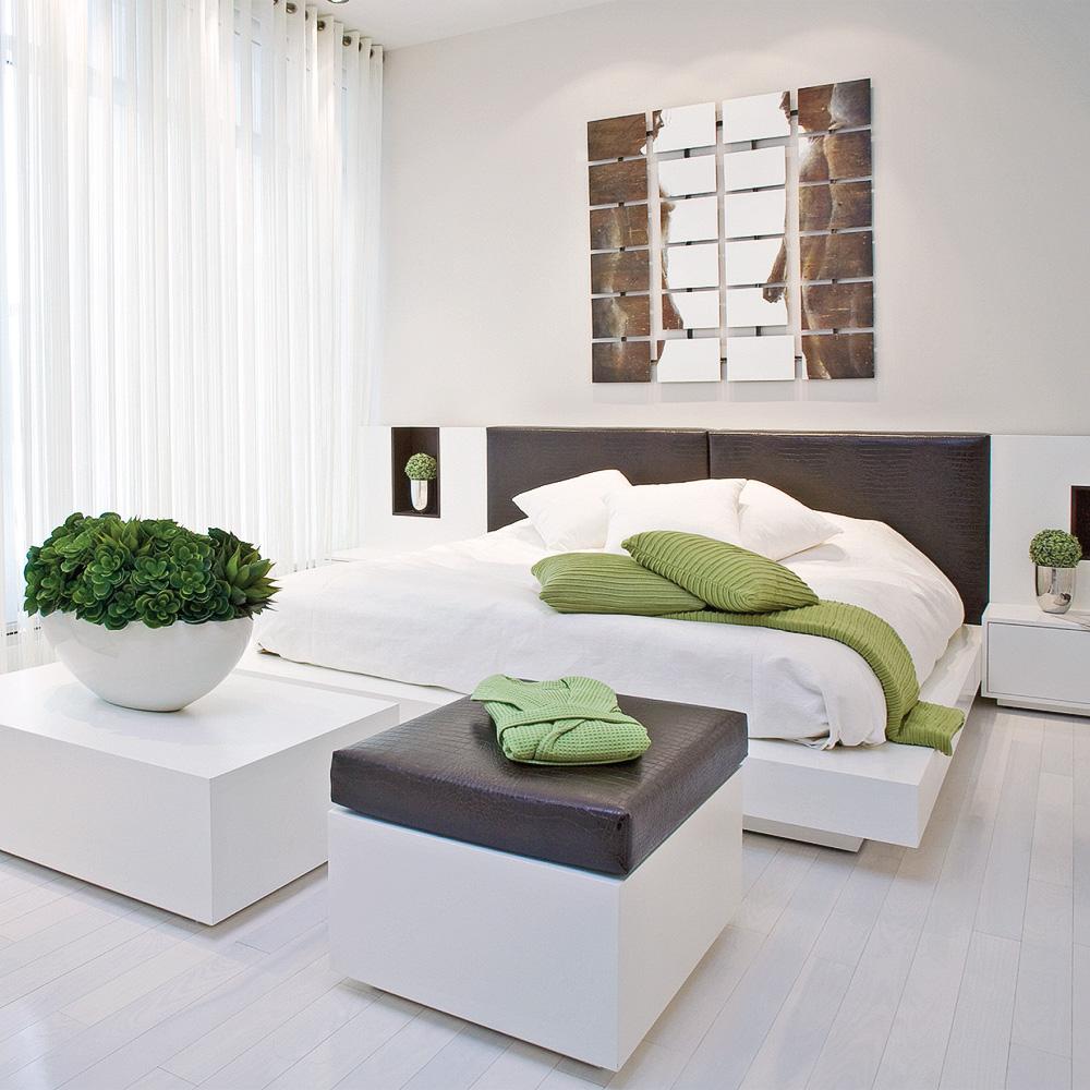 Chambre futuriste