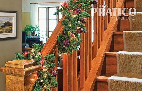 Decorer La Rampe D Escalier Pour Noel Je Decore