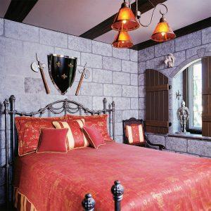 Une chambre de chevalier