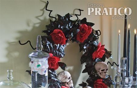 Créer une couronne funèbre pour Halloween