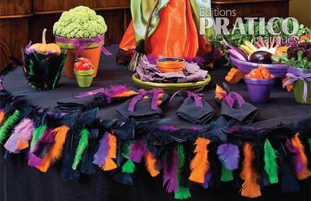 Goûter coloré pour Halloween