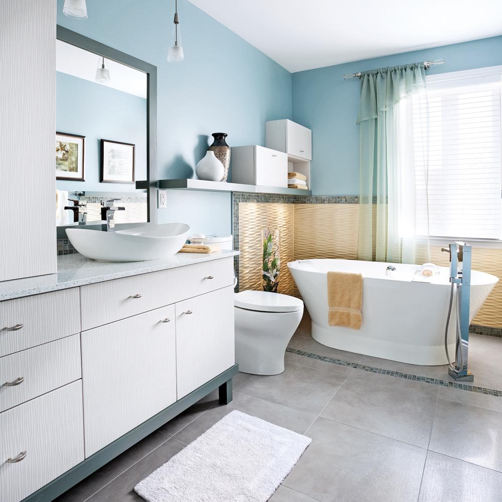 M tamorphose totale de la salle de bain je d core - Je decore salle de bain ...