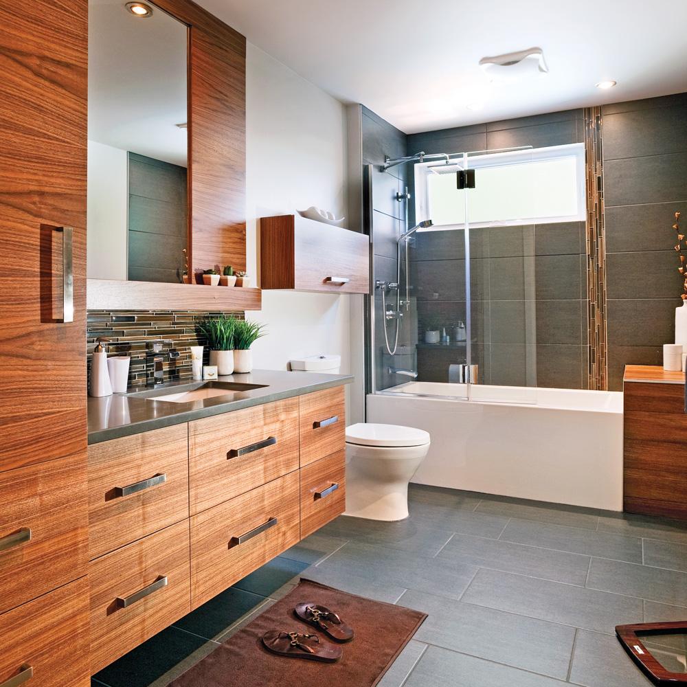 Cure de jeunesse pour la salle de bain je d core - Je decore salle de bain ...