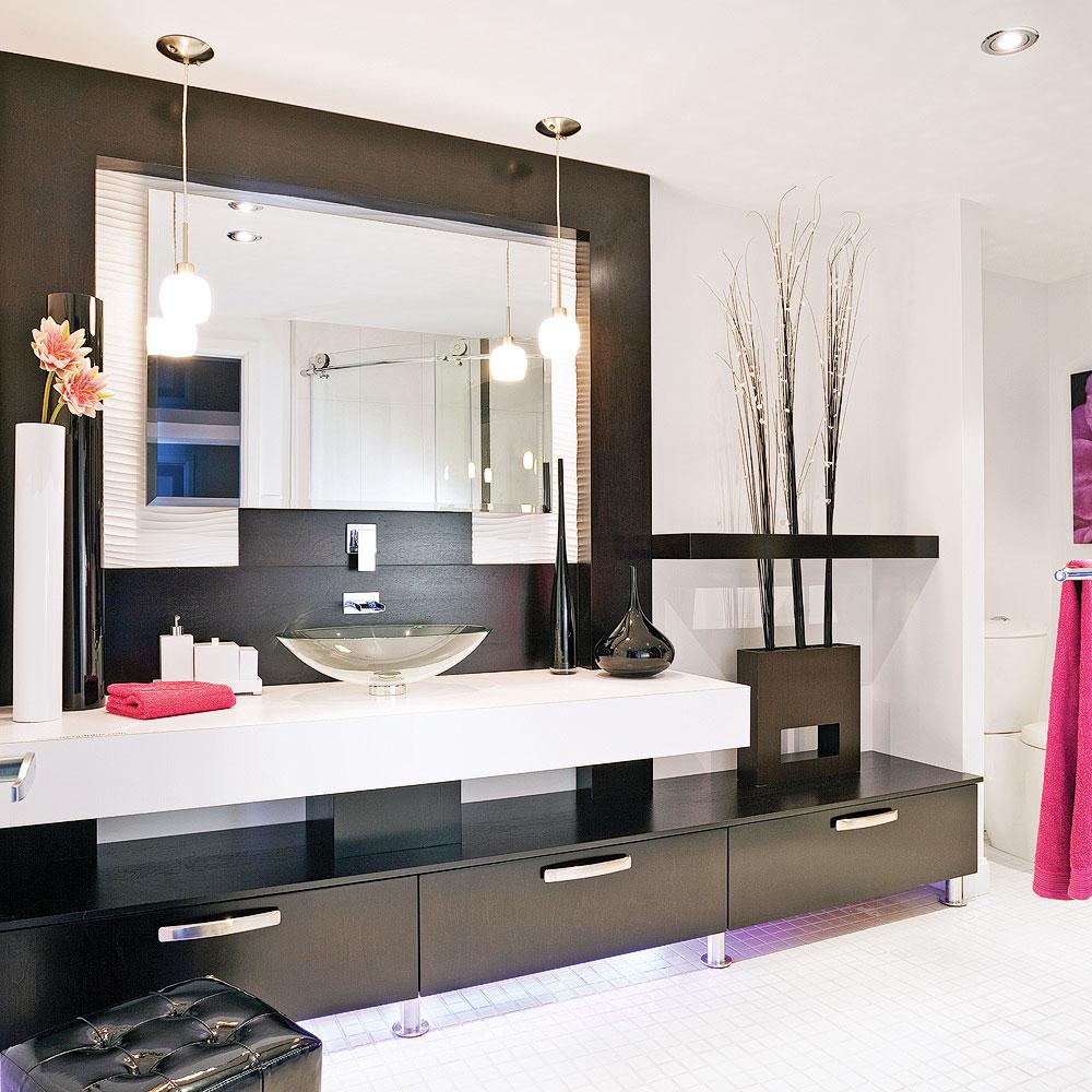salle de bain chic et pur e je d core. Black Bedroom Furniture Sets. Home Design Ideas