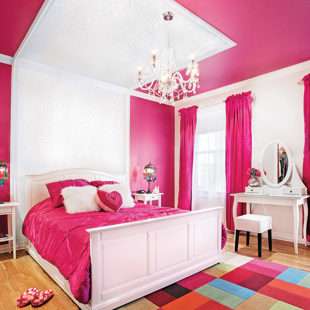 Les Couleurs Des Chambres 2018 moulures et couleur pour la chambre - je décore