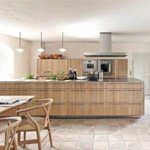 Rusticité scandinave pour la cuisine