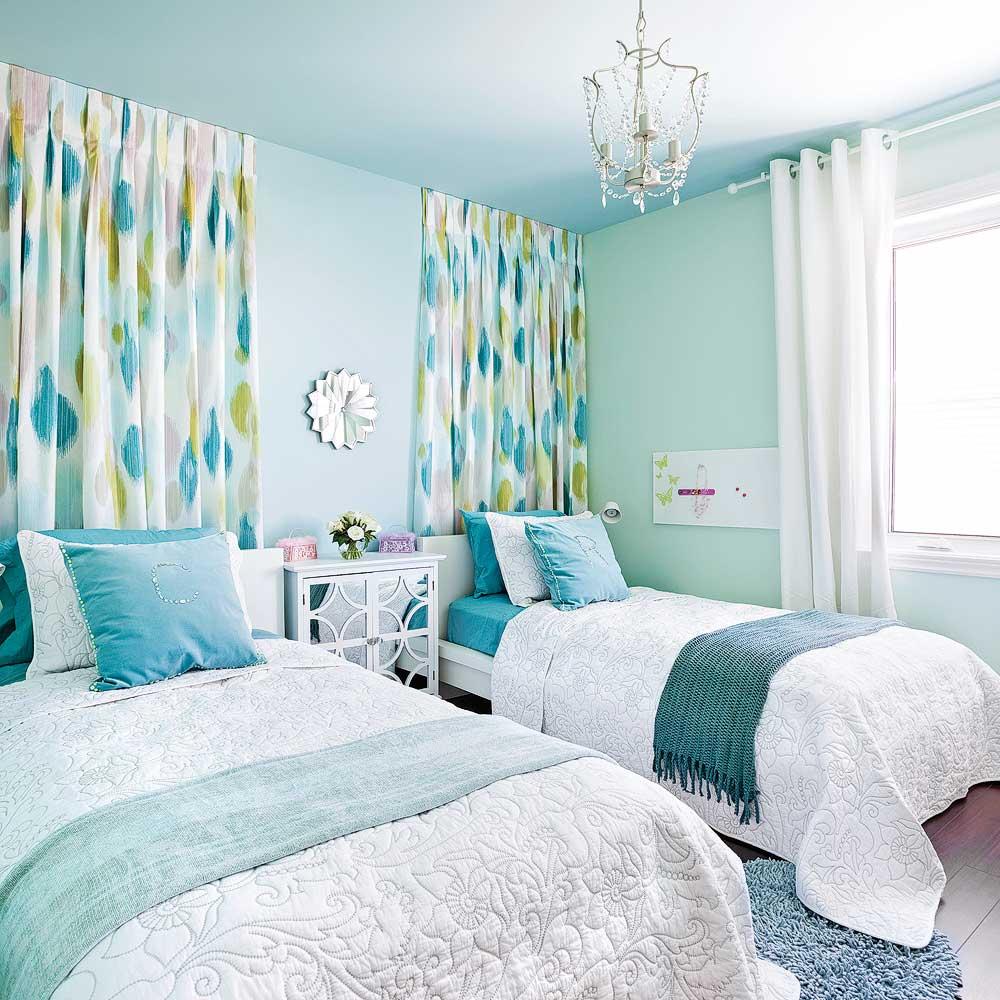 Les Couleurs Des Chambres 2018 agencements de couleurs gagnants avec la peinture - je décore