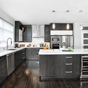 Magie noire et blanche dans la cuisine