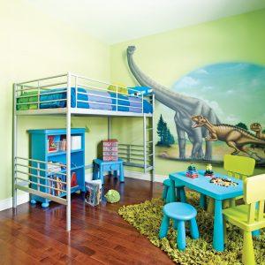 Une chambre au pays des dinosaures