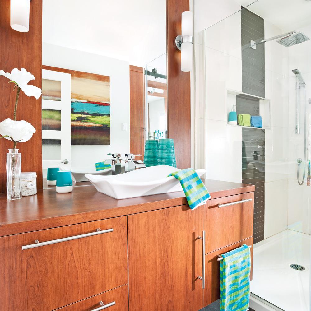 Rangement pour la salle de bain je d core - Rangement pour salle de bain ...