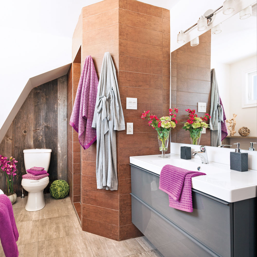 Salle De Bain Chocolat Turquoise 10 idées pour relooker la salle de bain à moins de 500$ - je