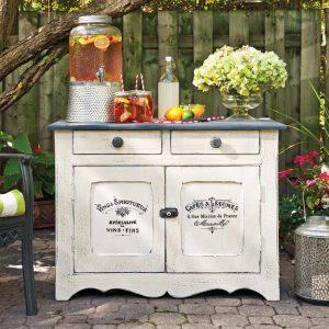 En étapes: donner un look rustique à vos meubles