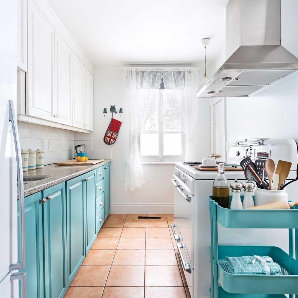 Une cuisine transformée à moins de 750$