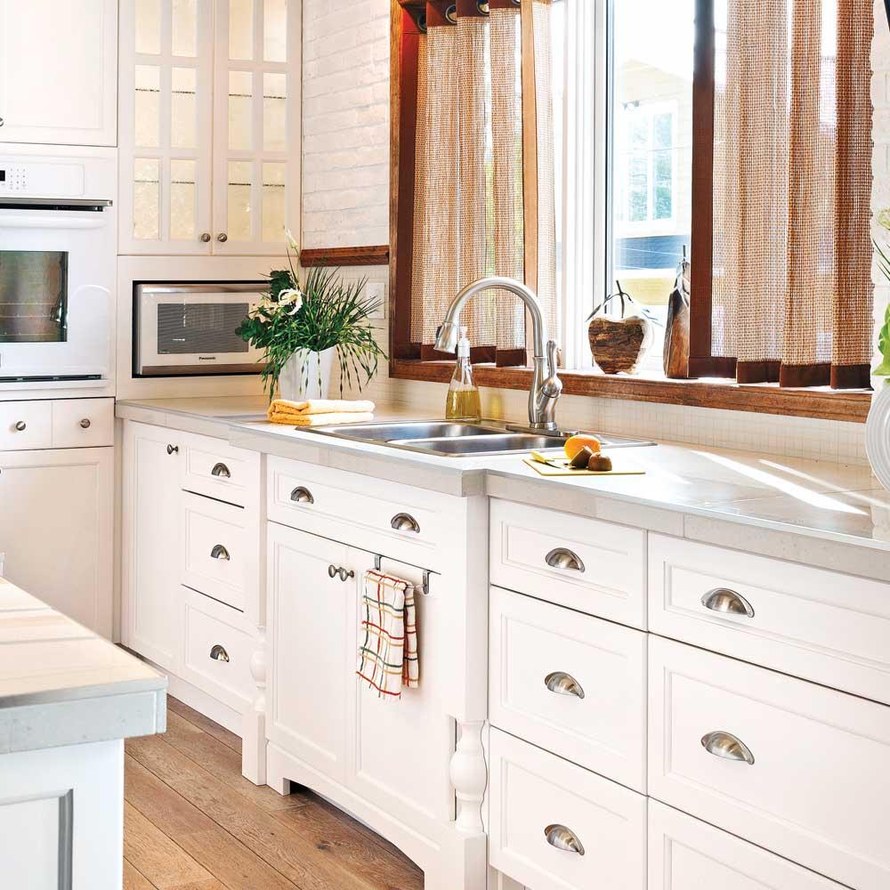 Comment Installer Un Comptoir De Cuisine en étapes: installer un évier de cuisine - je décore