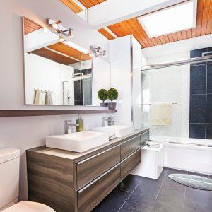 Chaleur rayonnante dans la salle de bain