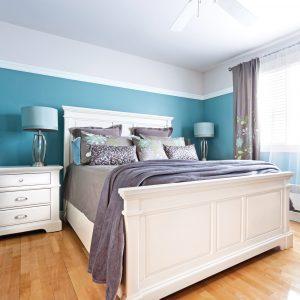 Une chambre calme et apaisante