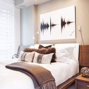 Une chambre bien dégagée