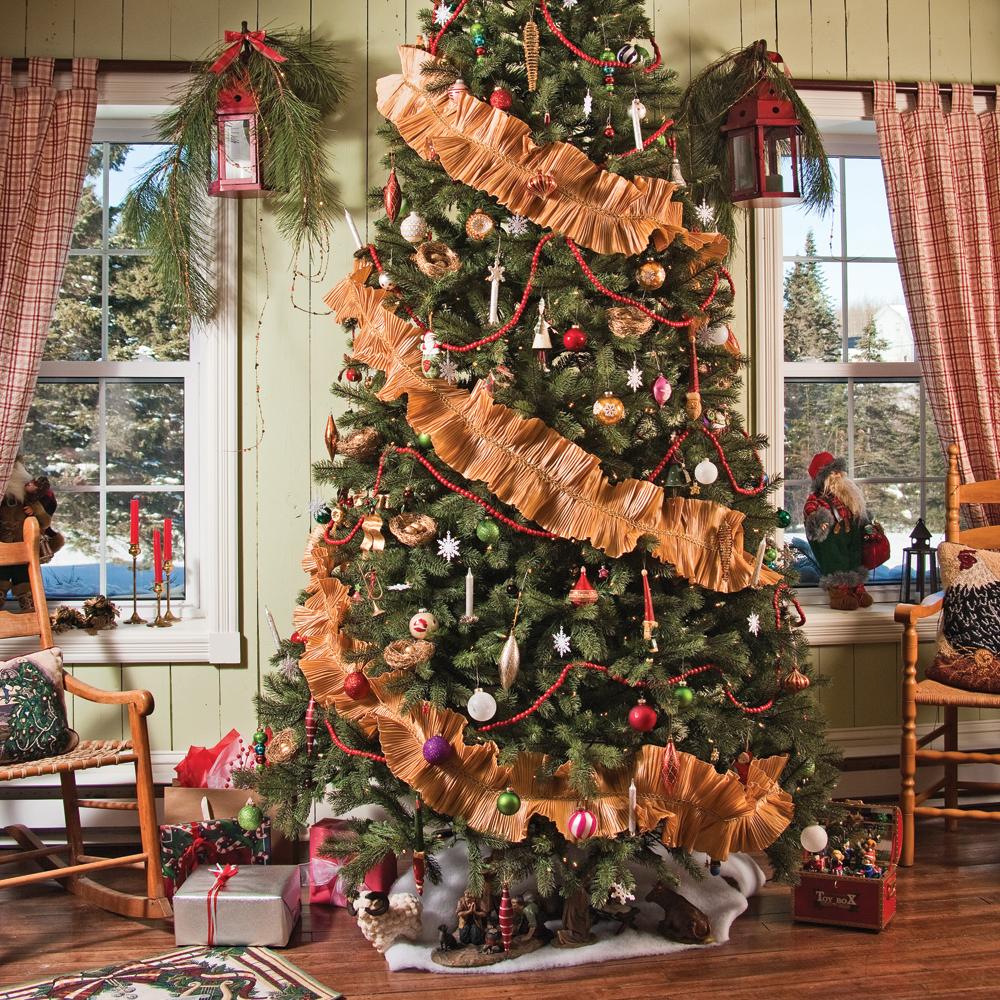 Décor 100% rustique pour Noël