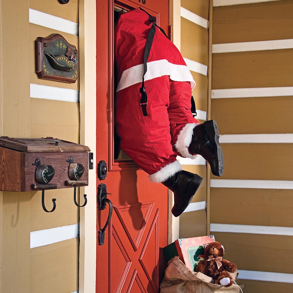 En étapes: créer un père Noël qui entre par la fenêtre