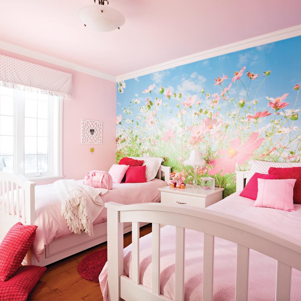 Une chambre rose poudre - Je Décore