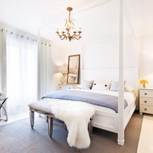 Chambre au style classique intemporel