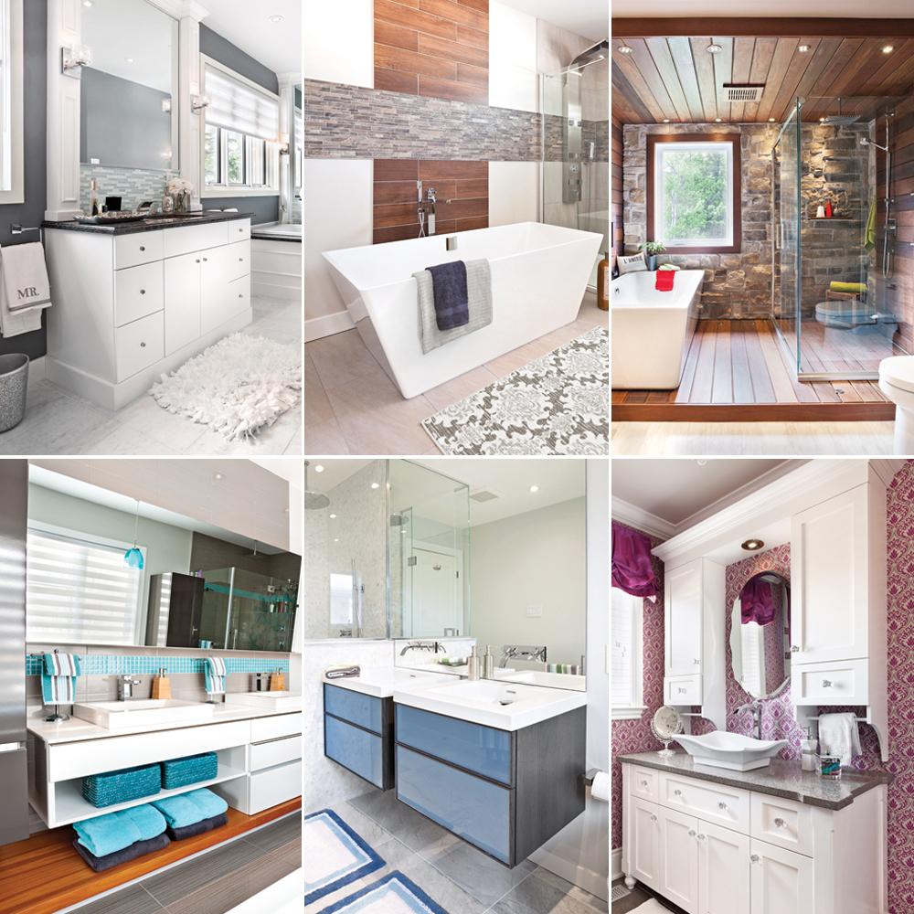 Les tendances salles de bain 2016 en 24 décors - Je Décore