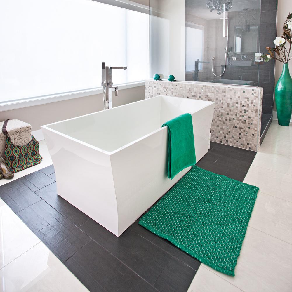Chambre Ouverte Salle De Bain salle de bain à aire ouverte - je décore
