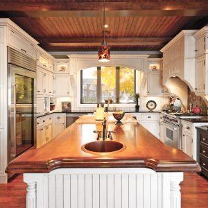 Une cuisine au style champêtre chic