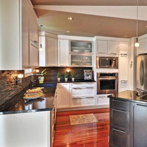 Riches textures dans la cuisine