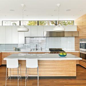 La cuisine: l'antre de l'architecte