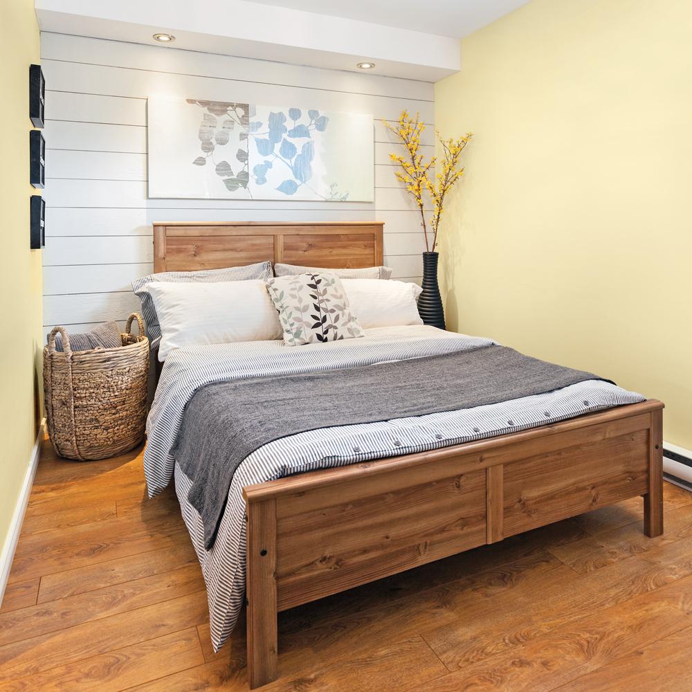 Look «nouveau champêtre» dans la chambre