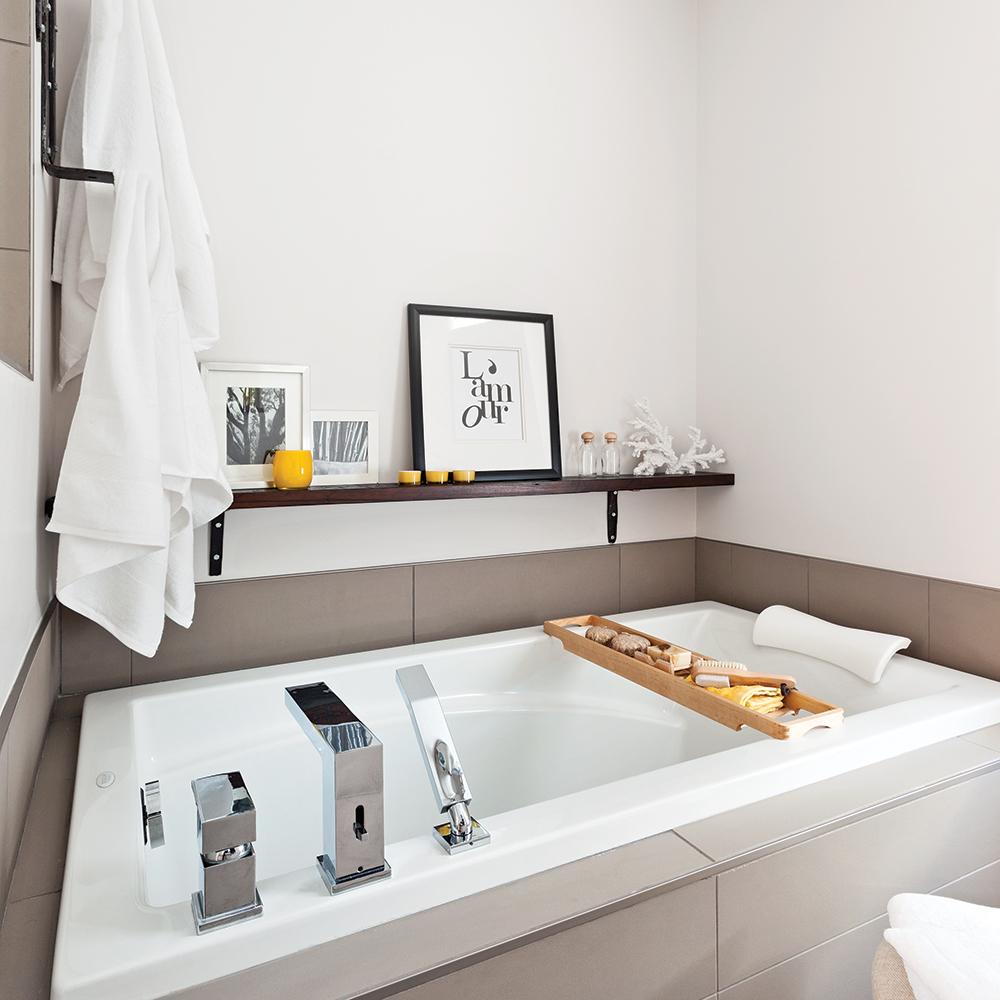 Salle de bain: les détails déco, c'est payant!