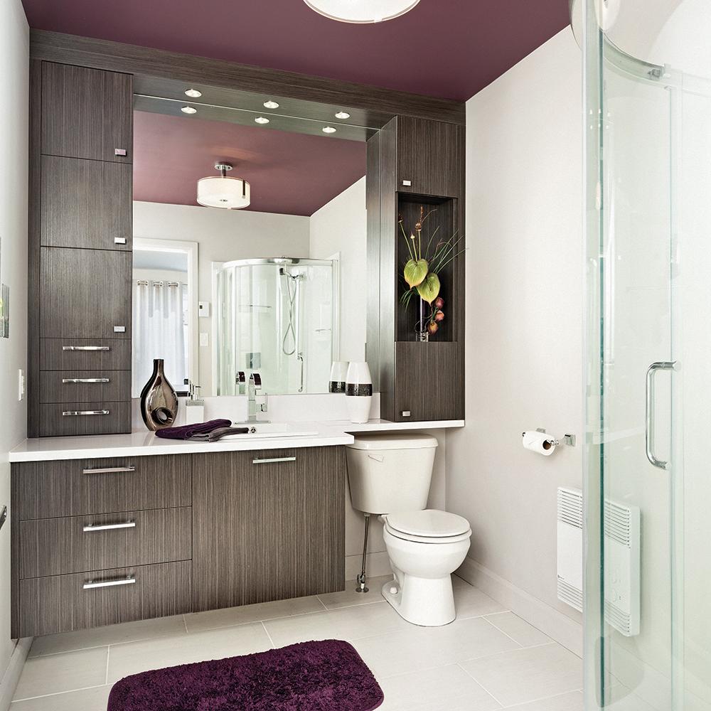Salle de bain: la peinture à la rescousse!