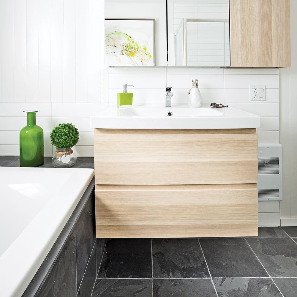 Transfo salle de bain: lumineuse fonctionnalité - Je Décore