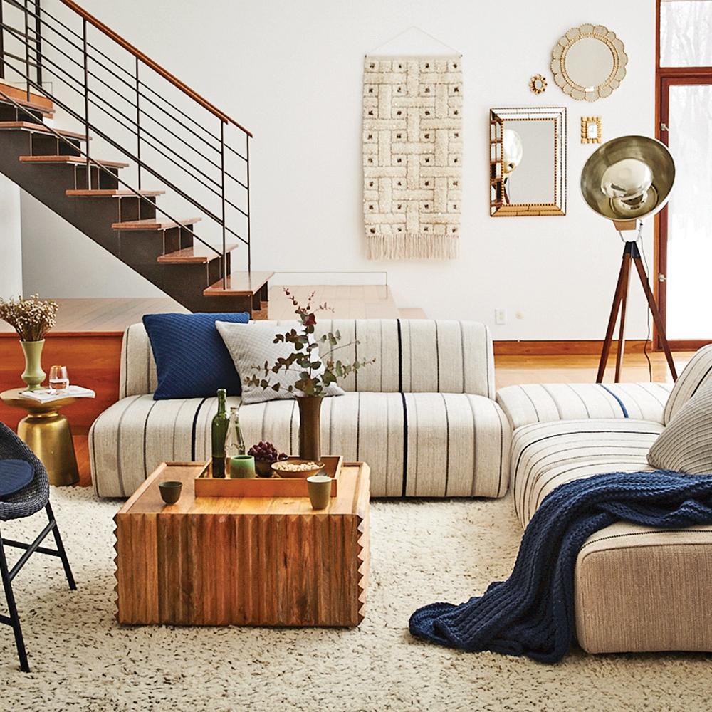 d co artisanale inspir e des ann es 70 je d core. Black Bedroom Furniture Sets. Home Design Ideas