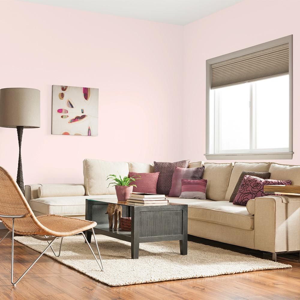 Rose quartz dans la salle de séjour