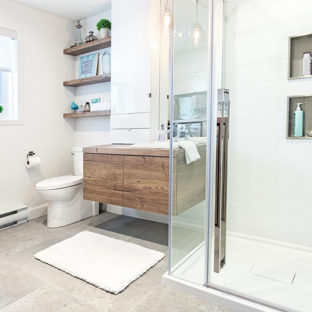 Transfo payante à la salle de bain - Je Décore