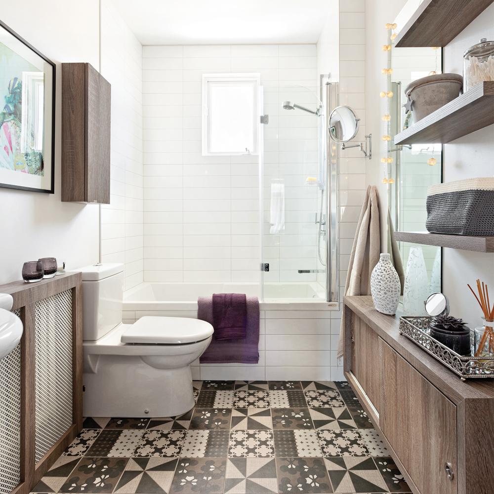 Effet de grandeur dans la salle de bain