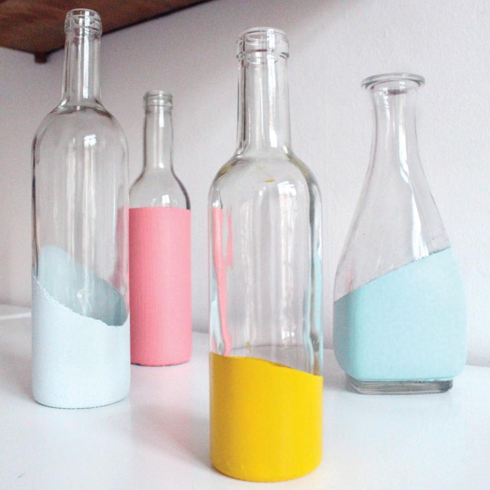 DIY: vase vintage en 2 étapes seulement!