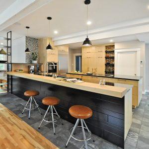 Une cuisine au décor de prestige