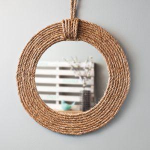 DIY – Miroir rustique